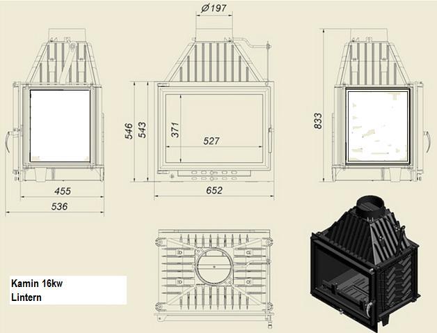 kamin laterne 16kw. Black Bedroom Furniture Sets. Home Design Ideas